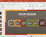 Animated Rounded Arrow Timeline for PowerPoint