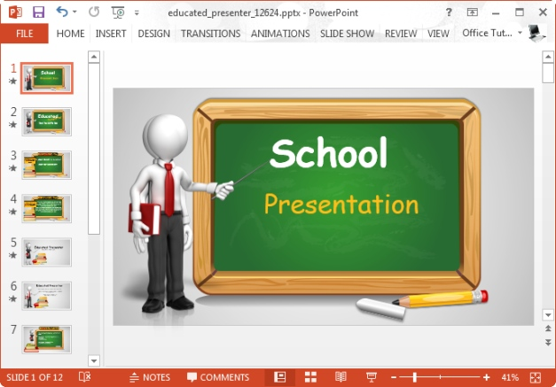 topic for school presentation