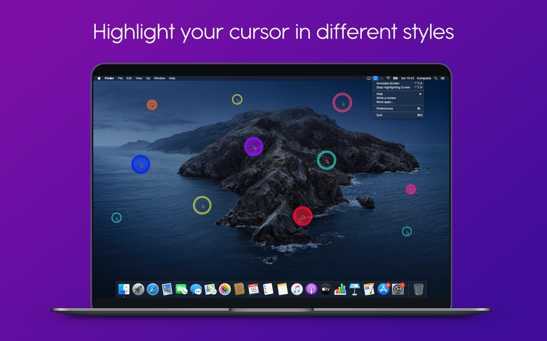 use different cursor styles