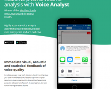Improve Your Pitch and Volume for Public Speaking with Voice Analyst