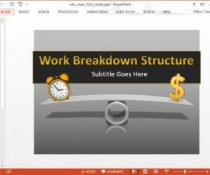 Animated WBS Template For PowerPoint And Keynote