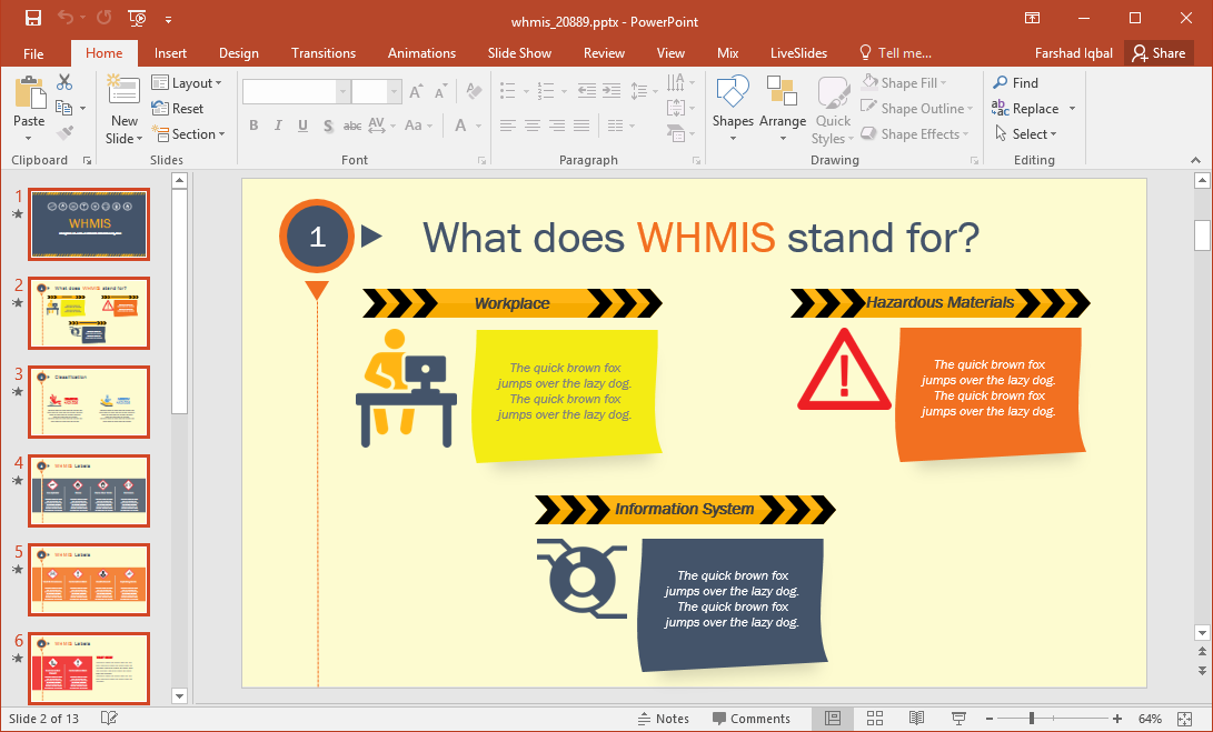 what does whmis stand for