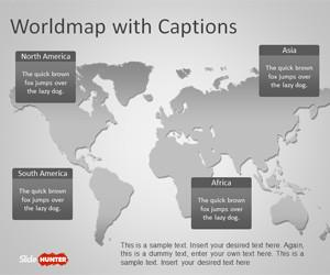 Worldmap PowerPoint Template