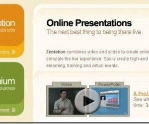 Sync YouTube Videos With PowerPoint Presentations Using Zentation